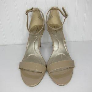 Bandolino Ankle Strap Heels Size 9.5